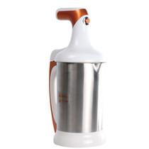 建括 JKD-A1-01 全自动 多功能 豆浆机 不锈钢内胆安全卫生 香槟金 桔色产品图片主图