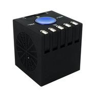 MATE CIBOU多合一万能读卡器 电脑usb扩展多接口 usb分线器带音箱黑色