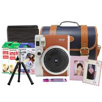 富士 checky拍立得mini90(棕色)相机套餐  棕色 套餐四产品图片主图