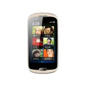 海尔  HT-A6 移动3G 老年智能机触屏 大字大声 安卓智能手机(浅黄色)