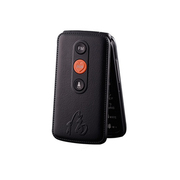 大显 DX500 大屏翻盖老人机 移动联通卡老年手机 大字体大声音老人手机(黑色)