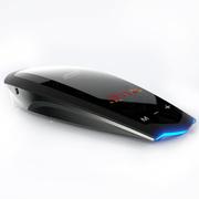 安视得 N3新款车载自动升级云电子狗  流动固定测速雷达安全预警仪 超薄智能触控云狗 云自动升级