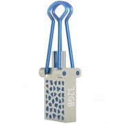 OV SPD012 32G 金属OTG高速U盘 手机电脑两用 (MICRO USB+USB2.0双接口)手机U盘 蓝色
