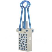 OV SPD012 8G 金属OTG高速U盘 手机电脑两用 (MICRO USB+USB2.0双接口)手机U盘 蓝色