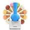 小鸭 XY-200升级版水果家用冰淇淋机 DIY雪糕机 冰激凌机 天蓝色 热销中产品图片2
