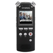 现代 韩国 HYM-7028 8G 专业 高清 远距 拍照摄像录音笔 黑色
