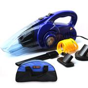尤利特 多功能车载吸尘器充气泵一体机 12V汽车用打气泵 干湿两用 蓝色车用
