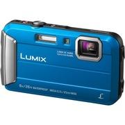 松下 Lumix DMC-TS30 数码相机/运动相机 蓝色 (防水 防尘 防摔 防冻 TS25升级版)
