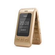 锋达通 C6 电信2G翻盖老人手机 金色