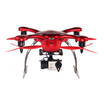 亿航 GHOST航拍版无人机 四轴飞行器 飞行器四旋翼 带相机 安卓航拍版 红产品图片主图