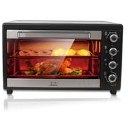 小鸭 电烤箱家用大容量热风烤箱 多功能烘培  四层烤位 48L