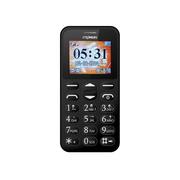首信 L118移动/联通2G老人手机 黑色