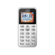 首信 L118移动/联通2G老人手机 白色