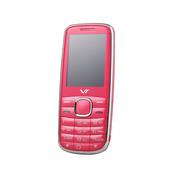 E.XUN VT-2 电信2G手机 迷你老人手机 红粉