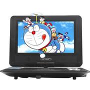 先科 10英寸儿童便携式dvd 高清影碟机移动播放机evd 红色