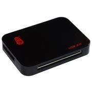 川宇 C399 USB3.0 读卡器 读卡器3.0 读卡器多功能合一 100cm加长版