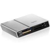 宇瞻 AM404 USB 2.0 多功能读卡器 银色