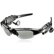 悍科(HK) 现代演绎系列G500蓝牙眼镜 司机必备 接听电话 音乐 太阳镜墨镜 立体声MP3播放器 G500(标准版)+送茶色镜片一幅