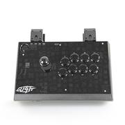 拳霸(QANBA) Q1-斩 PS3/PC 夹式可分拆街机游戏摇杆手柄 黑色标准版