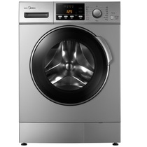 美的 MG80-1213EDS 8公斤变频滚筒洗衣机 (银色)产品图片主图