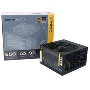 安钛克 额定550W EAG550 电源(12CM风扇/ 80PLUS金牌/支持背线/主动式PFC)