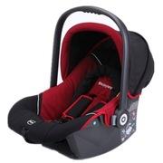 Kiddy 新生婴儿提篮德国奇蒂 红黑色佳宝巢 车载提篮式汽车儿童安全座椅