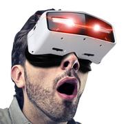 apphome 博思尼 3D视频眼镜头盔 智能眼镜 暴风影音魔镜 私人影院 个人头戴式投影机