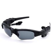 数码王 智能蓝牙眼镜耳机 头戴式音乐太阳镜 户外骑行 可通话 4.1蓝牙眼镜 黑色