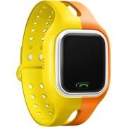 小天才 电话手表Y01 橙黄 儿童智能手表360度防护 学生小孩智能定位通话手环手机