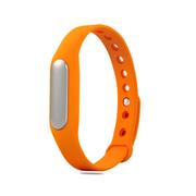 小米 手环 智能防水运动手环  计步器 可监测健康睡眠 黑色原封+橙色非腕带