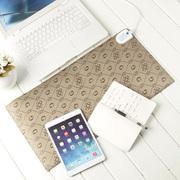 GRID-IT 多功能电热暖桌垫迷你款 浅咖啡
