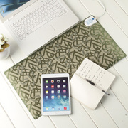 GRID-IT 多功能电热暖桌垫迷你款 字母绿