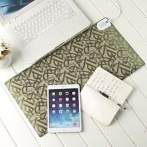 GRID-IT 多功能电热暖桌垫迷你款 字母绿产品图片主图