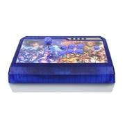 拳霸(QANBA) Q4 冰蓝PS3/PC 二合一街机游戏摇杆手柄 3D街霸面版 全三和 清水杆三和键