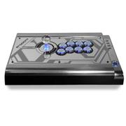拳霸(QANBA) Q2-PRO炫光 LED发光型街机游戏摇杆 EVO银色支持PS3、PC
