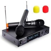 纽曼  DM-669 电脑无线话筒麦克风 手咪麦KTV电视家庭影院无线话筒 黑色