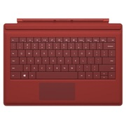 微软 Surface 3 专业键盘盖 (红色)