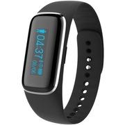 Fitband 健康智能手环 心率检测 运动计步 心率睡眠监测 来电提醒 古铜黑