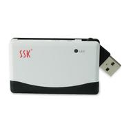 飚王 SCRM010奔腾多合一多功能读卡器 支持TF\SD\CF\MS等手机相机卡