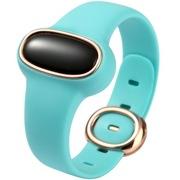 为谱(VIPOSE) Bi-06 幸运石孕妇安全手环 智能监测腕带 防辐射提醒 成人儿童通用健康计步器 湖水绿