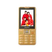 大显 DX900 移动/联通2G 直板老人手机 金色