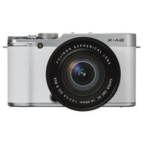 富士 X-A2 微单电套机(XC16-50II)皓雪白 APS-C 自拍翻转屏 WiFi XA2时尚复古产品图片主图