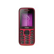 海尔 HG-M311移动/联通2G老人手机 红色