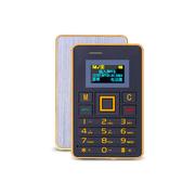 apphome K5 迷你卡片小手机新款个性袖珍薄儿童学生男女卡片小手机 金色 4G版