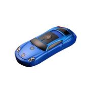apphome 新款创意迷你小汽车直板小手机双卡双待学生儿童个性袖珍打火机手机 蓝色