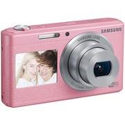 三星 智能WIFI双屏数码相机 DV180F(粉色)