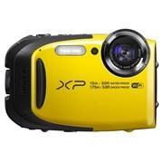富士 XP80 四防户外运动相机 黄色(1640万像素 5倍光变 2.7英寸显示屏 Wi-Fi遥控拍摄)