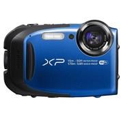 富士 XP80 四防户外运动相机 蓝色(1640万像素 5倍光变 2.7英寸显示屏 Wi-Fi遥控拍摄)