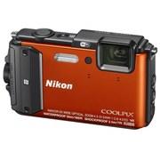 尼康 COOLPIX AW130s 数码相机 橙色