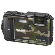 尼康 COOLPIX AW130s 数码相机 迷彩色